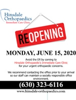 Reopening - Monday, June 15, 2020